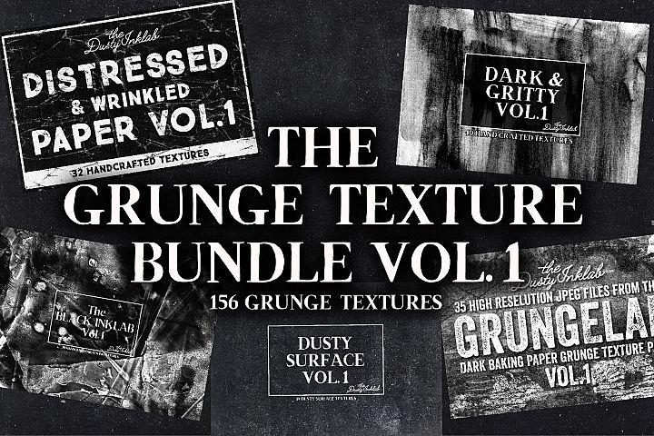 The Grunge Texture Bundle Vol. 1
