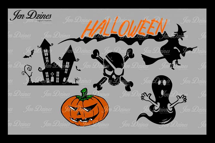 Halloween SVG DXF EPS PNG