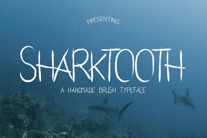 Sharktooth Typeface