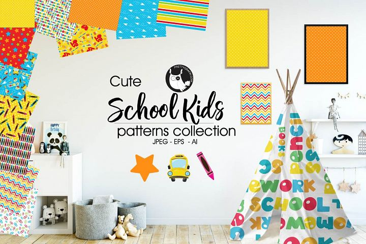SCHOOL-KIDS, digital papers