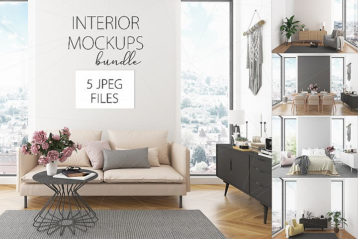 Interior bundle - 5 images