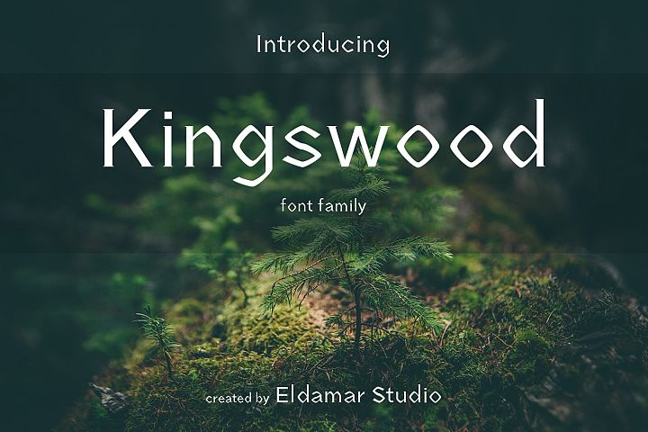 Kingswood Font