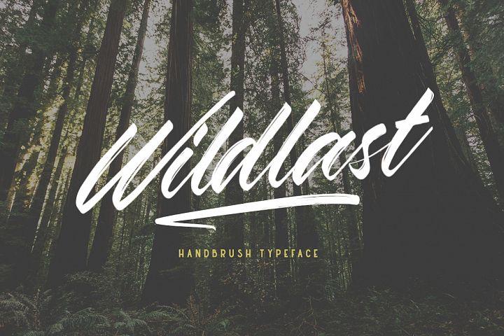 Wildlast Handbrush Typeface