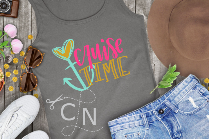 Cruise Time, Cruise Shirt Design