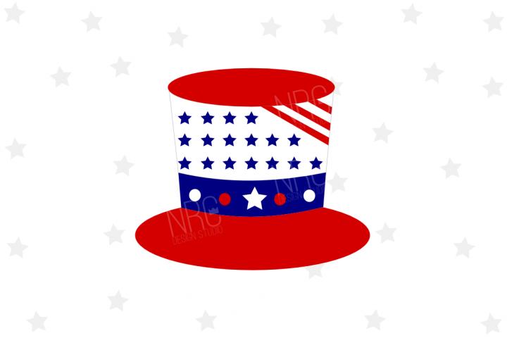 Patriotic Hat SVG File