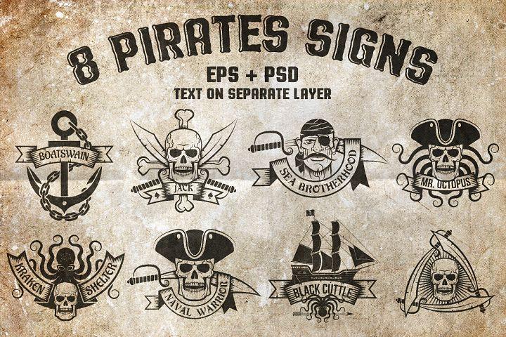 8 Pirates Signs