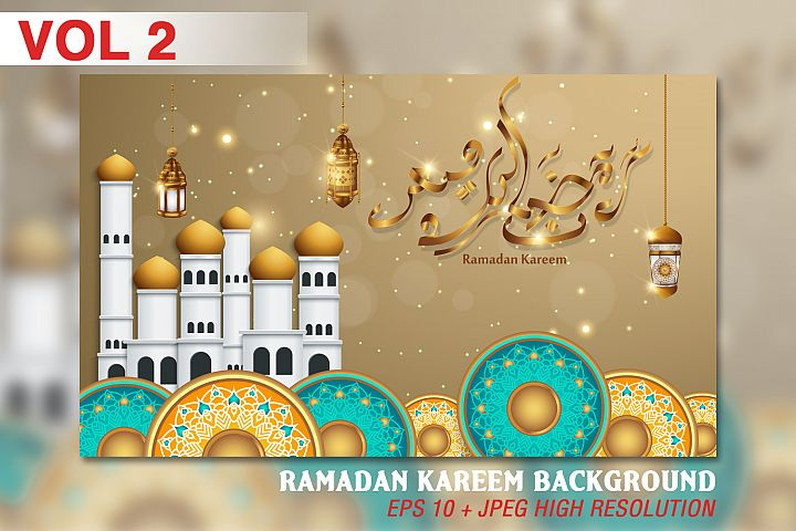 Ramadan Kareem background - VOL 2