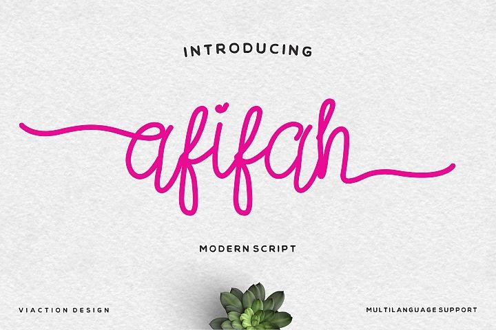 Afifah Script