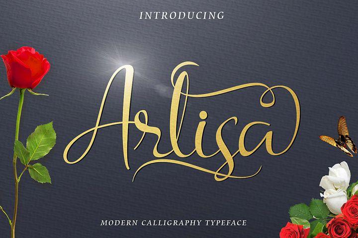 Arlisa Script + Bonus