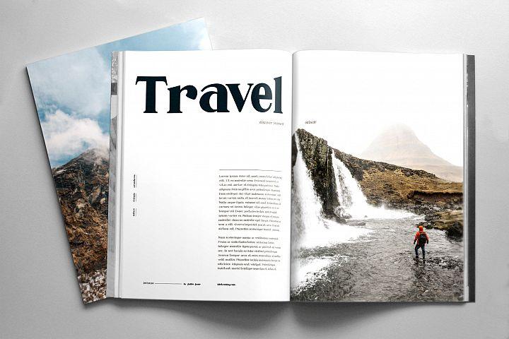 Millenia - Serif Font - Free Font of The Week Design 5