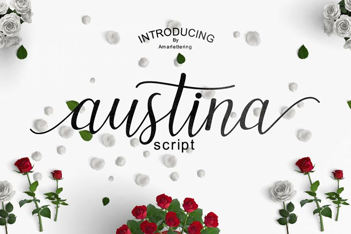 Austina - Free Font of The Week