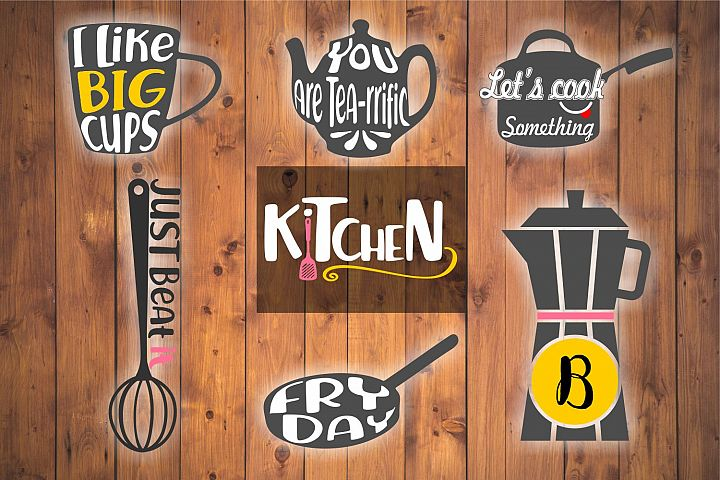kitchen svg, VOL3, kitchen bundle, kitchen clipart, kitchen