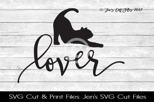 Cat Lover SVG Cut File