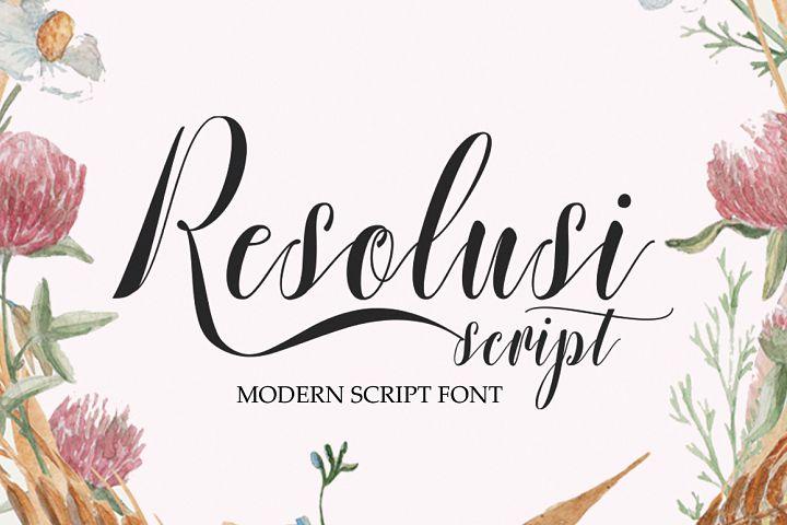 Resolusi Script