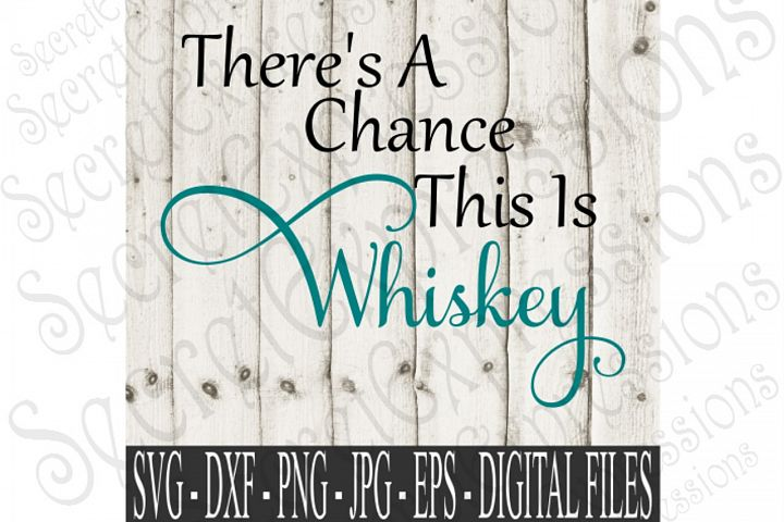 Theres A Chance This Is Whiskey