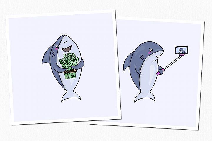 One Happy Shark example 5