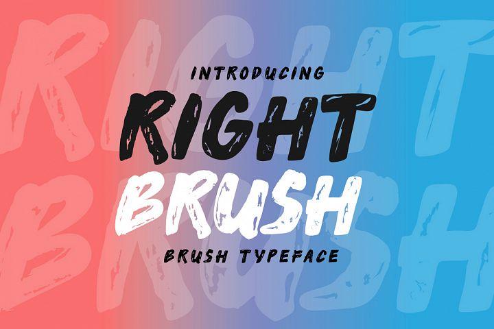 Right Brush