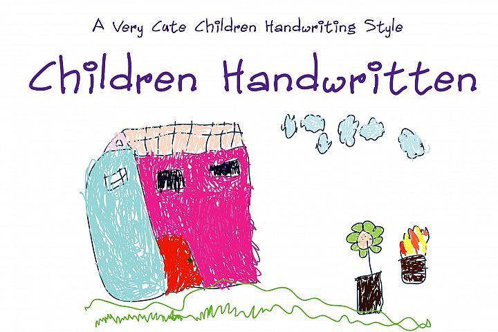 Children Handwritten