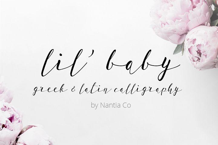 LilBaby Script Font
