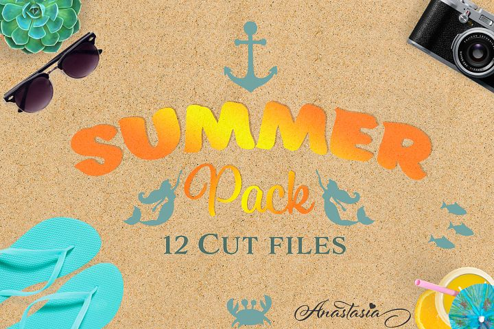 The Summer SVG Cut Files Pack - Limited Promotion!