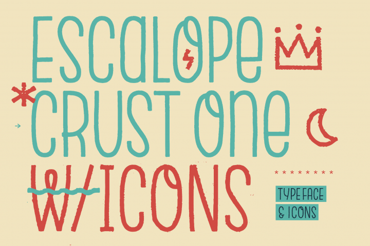 Escalope Crust One + Icons