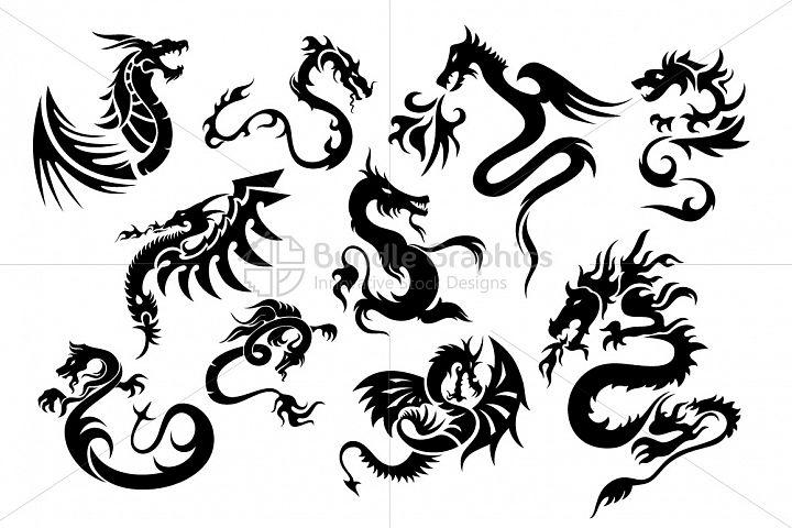 Fire Serpent Dragons