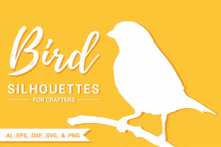 Bird Silhouettes for Crafters