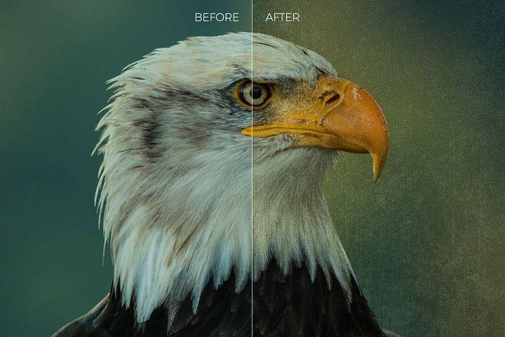 Grunge Texture Overlays example 2