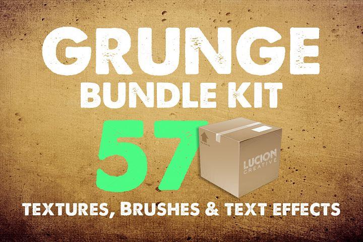 57 Essential Grunge Textures Pack