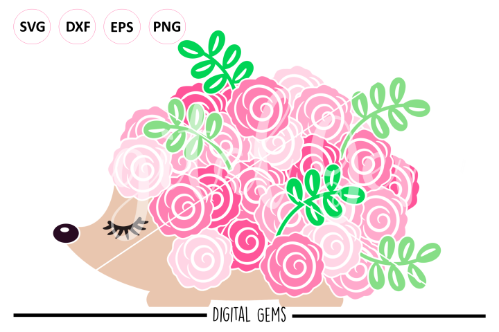 Hedgehog SVG / DXF / EPS / PNG files
