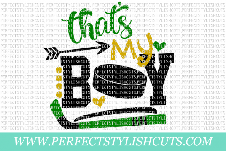 Thats My Boy Hockey - SVG, EPS, DXF, PNG Files For Cutting Machines, Sports Svg, Hockey Svg