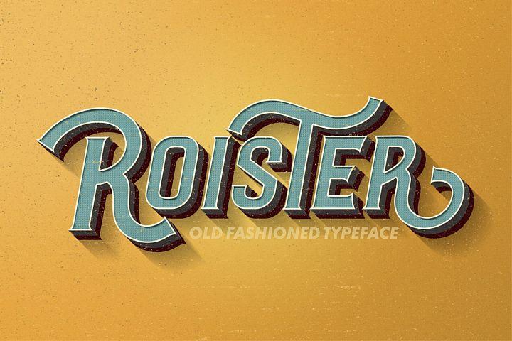 Roister Typeface