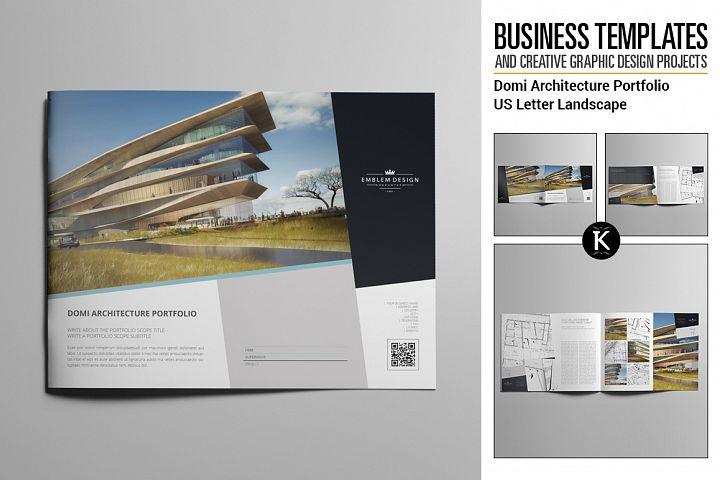 Domi Architecture Portfolio US Letter Landscape