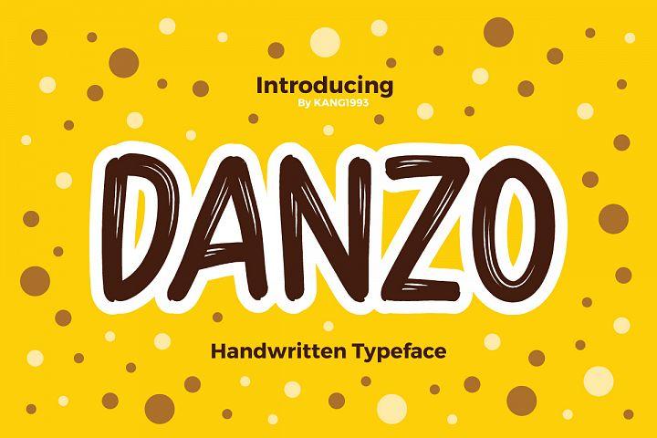 Danzo Typeface