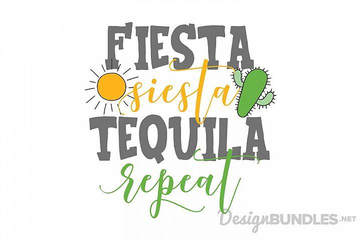 Fiesta, Siesta, Tequila, Repeat