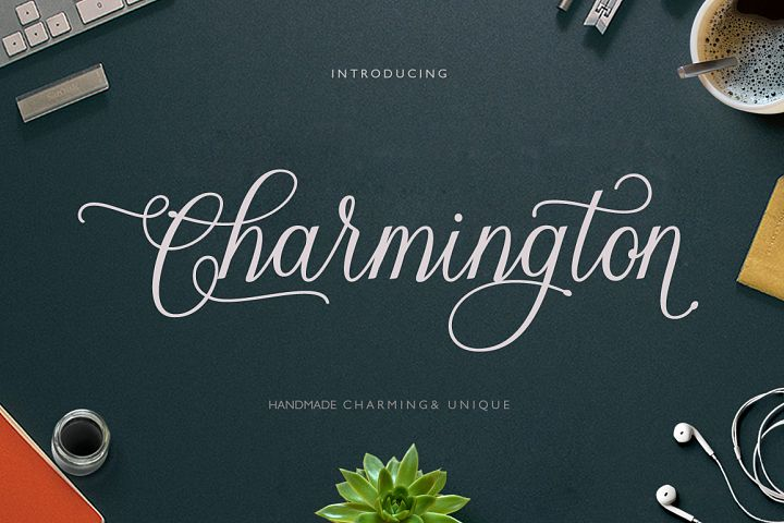 Charmington Script (20% off)