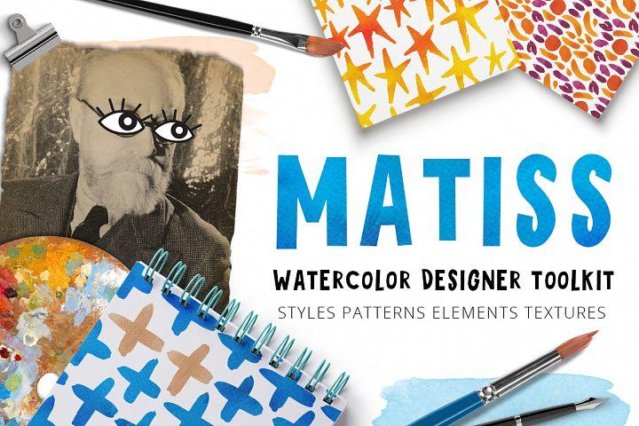 Matiss - Watercolor Designer Toolkit