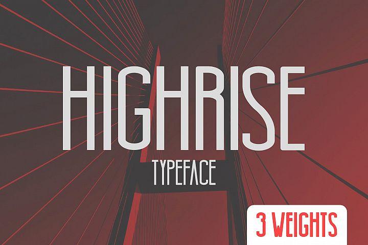 Highrise Typeface