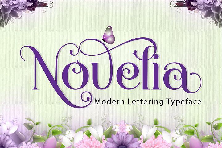 Novelia Typeface