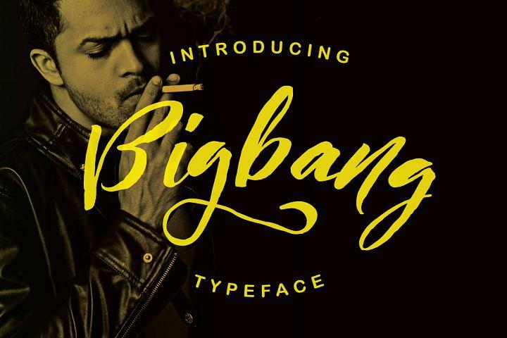 Bigbang Typeface