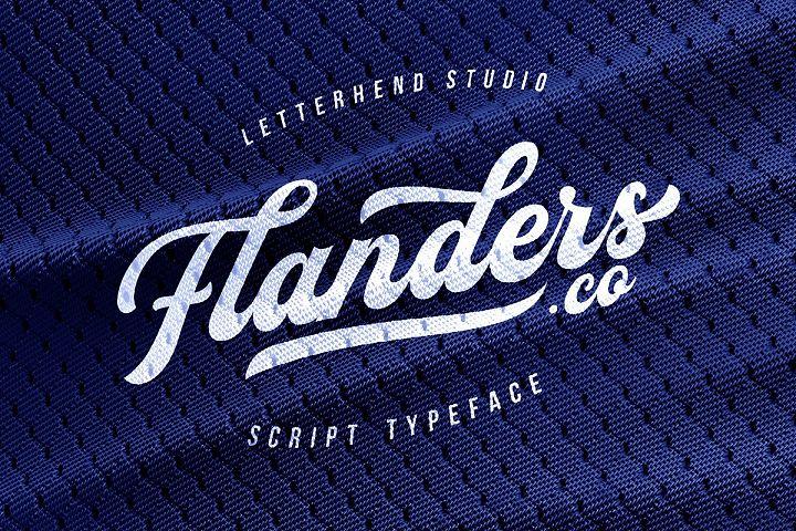 Flanders Script