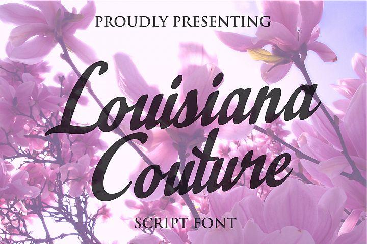 Louisiana Couture Script