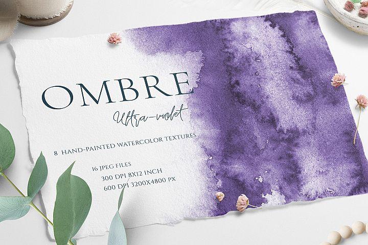 Ultra Violet Ombre Textures