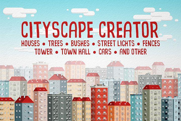Cityscape creator