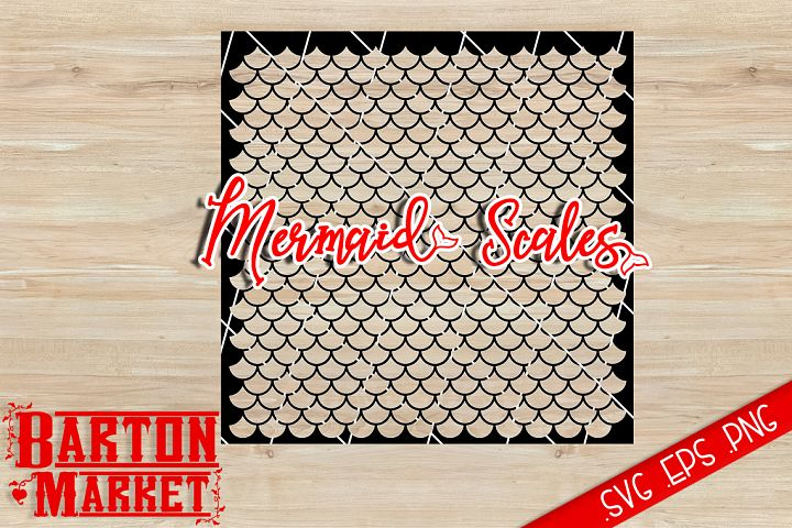 Mermaid Scales SVG / EPS / PNG