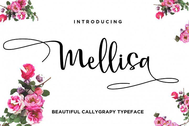 Mellisa Calligraphy Font