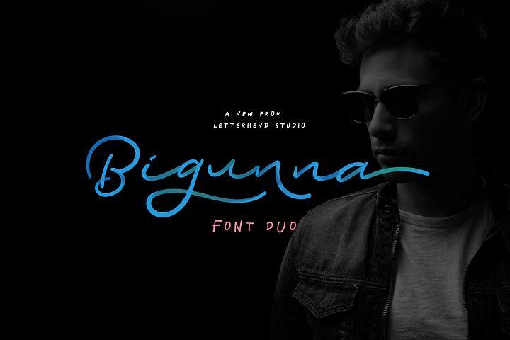 Bigunna - Font Duo
