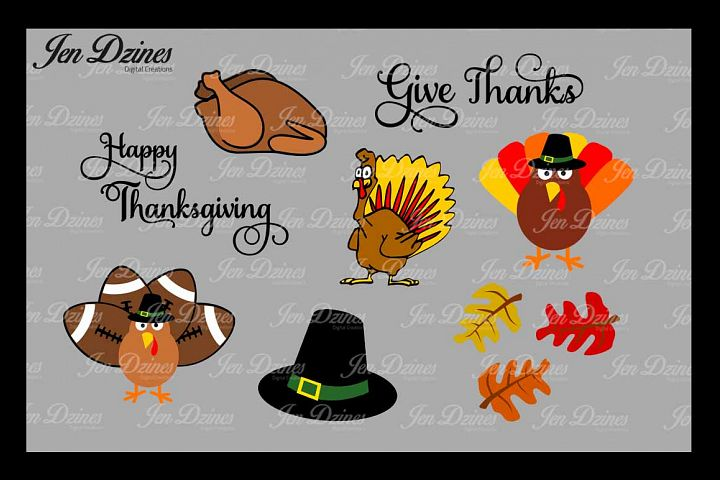Thanksgiving SVG DXF EPS PNG
