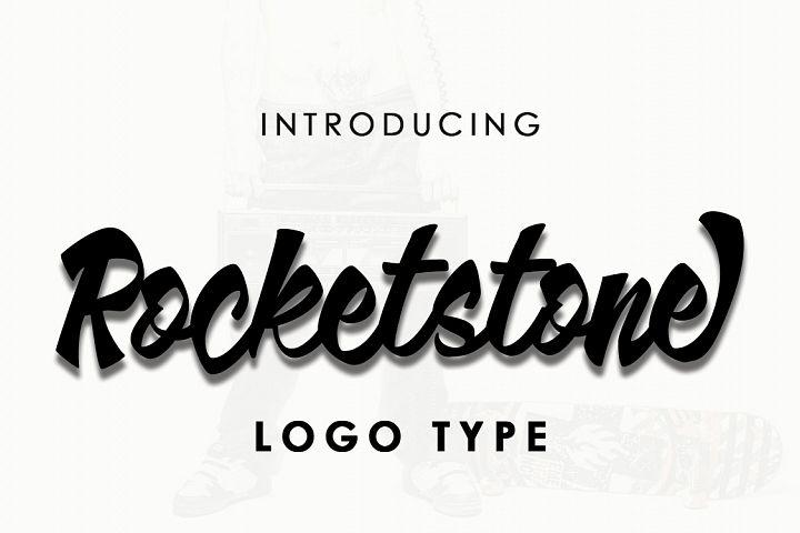 Rocketstone typeface