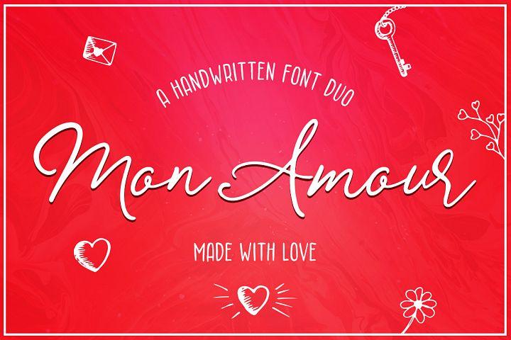 Mon Amour Font Duo